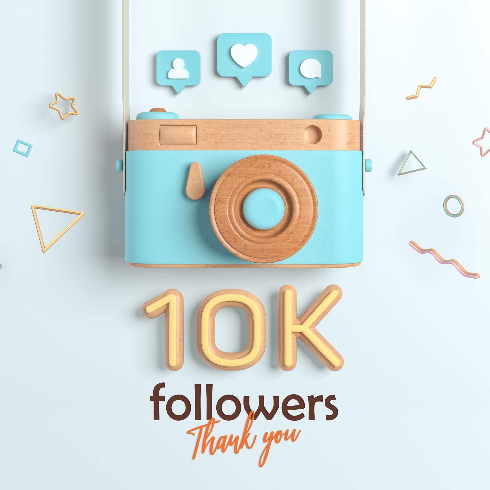 ganar 10.000 seguidores en isntagram
